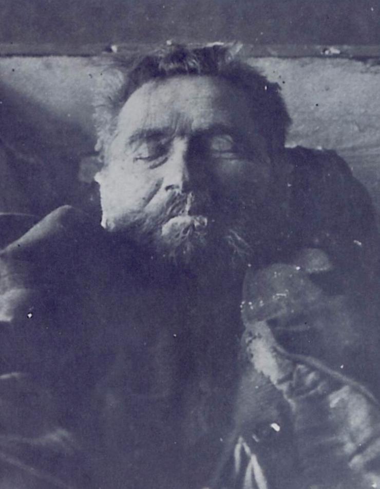 Vater Denke, der Kannibale