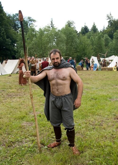Ein einfacher germanischer Krieger