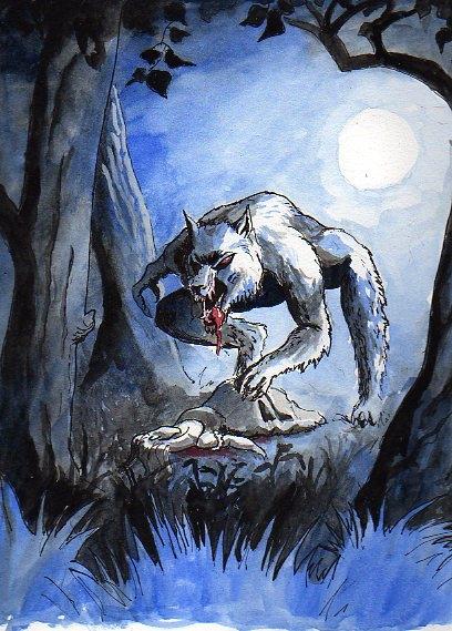 """Der Werwolf von Steffen """"Egon"""" Grosser"""