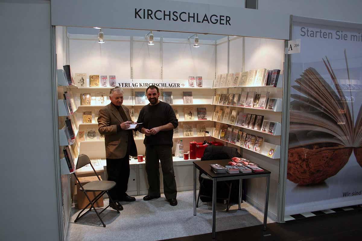 Bernd und Michael Kirchschlager auf der Leipziger Buchmesse 2010